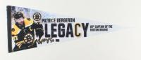 Patrice Bergeron Signed Bruins Pennant (Bergeron COA) at PristineAuction.com