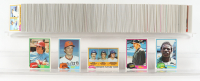 1981 Topps Complete Set of (726) Baseball Cards with Nolan Ryan #240, Kirk Gibson #315, Pete Rose #180, Rickey Henderson #261, Tim Raines RC / Roberto Ramos RC / Bobby Pate RC #479 at PristineAuction.com