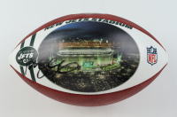 """Mark Sanchez Signed Official NFL """"The Duke"""" Game Ball Football With Custom Jets Panel (JSA ALOA) at PristineAuction.com"""