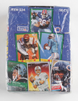 1991 Fleer Football Wax Box with (36) Packs at PristineAuction.com