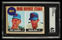 Nolan Ryan & Jerry Koosman 1968 Topps #177 Rookie Stars RC (SGC 6) at PristineAuction.com