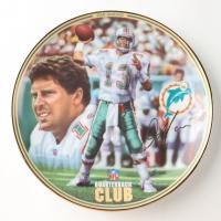 "Dan Marino LE ""NFL Quarterback Club"" Upper Deck Porcelain Plate at PristineAuction.com"