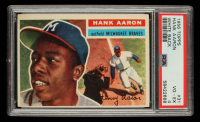 Hank Aaron 1956 Topps #31 (PSA 4) at PristineAuction.com