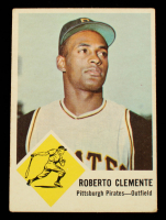 Roberto Clemente 1963 Fleer #56 at PristineAuction.com