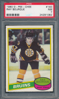 Ray Bourque 1980-81 O-Pee-Chee #140 RC (PSA 7) at PristineAuction.com