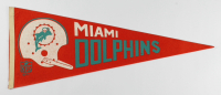 Vintage 1967 Dolphins Full-Size Pennant at PristineAuction.com