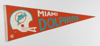 Vintage 1969 Dolphins Full-Size Pennant at PristineAuction.com