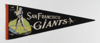 Vintage 1950's Giants Full-Size Pennant at PristineAuction.com