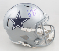 Demarcus Lawrence Signed Dallas Cowboys Full-Size Speed Helmet (JSA COA) at PristineAuction.com