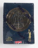 1994 Flair USA Basketball Hobby Box with (24) Packs at PristineAuction.com