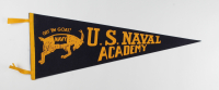 Vintage 1950's US Naval Academy Full-Size Pennant at PristineAuction.com