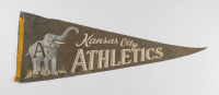 Vintage 1950's Athletics Full-Size Pennant at PristineAuction.com