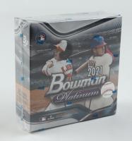 2021 Bowman Platinum Baseball Mega Box with (8) Packs at PristineAuction.com