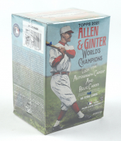 2021 Topps Allen & Ginter Baseball Blaster Box With (8) Packs at PristineAuction.com