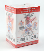 2020 Leaf Pete Rose Charlie Hustle Edition Baseball Blaster Box with (10) Cards at PristineAuction.com