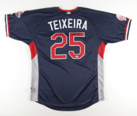 Mark Teixeira Signed 2009 MLB All-Star Game Jersey (Beckett COA) at PristineAuction.com
