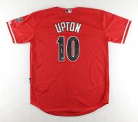 Justin Upton Signed Diamondbacks Jersey (Beckett COA) at PristineAuction.com