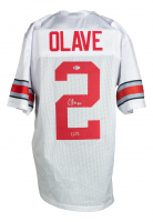 """Chris Olave Signed Jersey Inscribed """"CO2"""" (Beckett COA) at PristineAuction.com"""