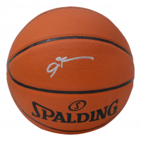 Allen Iverson Signed NBA Basketball (PSA COA) at PristineAuction.com