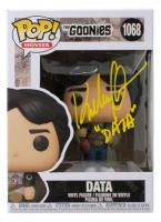 "Ke Huy Quan Signed Pop! Movies ""The Goonies"" #1068 Data Funko Pop! Vinyl Figure Inscribed ""Data"" (JSA COA) at PristineAuction.com"