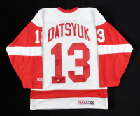 Pavel Datsyuk Signed Red Wings Jersey (Beckett COA) at PristineAuction.com