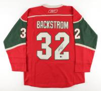 Nicklas Backstrom Signed Wild Jersey (Beckett Hologram) at PristineAuction.com