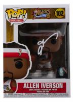 """Allen Iverson Signed """"76ers"""" #102 Funko Pop! Vinyl Figure (PSA COA) at PristineAuction.com"""