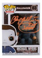 "James Jude Courtney Signed ""Halloween"" #03 Michael Myers Funko Pop! Vinyl Figure Inscribed ""The Shape"" (JSA COA) at PristineAuction.com"