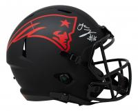 Jakobi Meyers Signed Patriots Full-Size Eclipse Alternate Speed Helmet (JSA COA) at PristineAuction.com