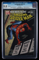 """2008 """"The Amazing Spiderman"""" Issue #568 Marvel Comic Book (CGC 9.8) at PristineAuction.com"""