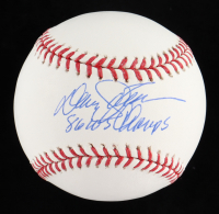 """Davey Johnson Signed OML Baseball Inscribed """"86 WS Champs"""" (Steiner COA) at PristineAuction.com"""