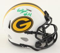 Eric Stokes Signed Packers Lunar Eclipse Alternate Speed Mini Helmet (JSA COA) at PristineAuction.com