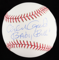 "Orlando Cepeda Signed OML Baseball Inscribed ""Baby Bill"" (Steiner COA) at PristineAuction.com"