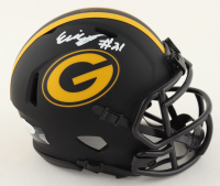 Eric Stokes Signed Packers Eclipse Alternate Speed Mini Helmet (JSA COA) at PristineAuction.com