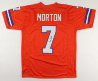 Craig Morton Signed Jersey (JSA COA) at PristineAuction.com