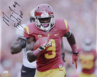 """Marqise Lee Signed USC Trojans 16x20 Photo Inscribed """"Fight On!"""" (JSA COA) at PristineAuction.com"""