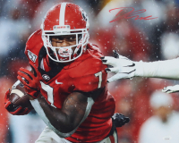D'Andre Swift Signed Georgia Bulldogs 16x20 Photo (JSA Hologram) at PristineAuction.com