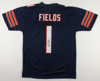 Justin Fields Signed Jersey (Beckett COA) at PristineAuction.com