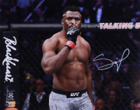 Francis Ngannou Signed 16x20 Photo (Beckett Hologram) at PristineAuction.com