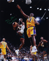 """Gary Payton Signed SuperSonics 16x20 Photo Inscribed """"The Glove"""" (Beckett Hologram) at PristineAuction.com"""