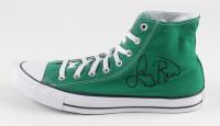 Larry Bird Signed Converse Basketball Shoe (PSA COA) at PristineAuction.com