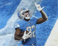 D'Andre Swift Signed Lions 16x20 Photo (JSA COA) at PristineAuction.com