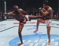 "Jon ""Bones"" Jones Signed UFC 16x20 Photo with Inscription (JSA COA) at PristineAuction.com"