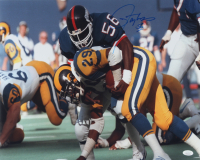 Lawrence Taylor Signed Giants 16x20 Photo (JSA COA) at PristineAuction.com