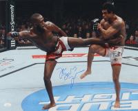 "Jon ""Bones"" Jones Signed UFC 16x20 Photo (JSA COA) at PristineAuction.com"