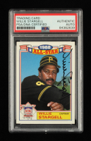 Willie Stargell Signed 1989 Topps Glossy All-Stars #22 CAPT (PSA Encapsulated) at PristineAuction.com