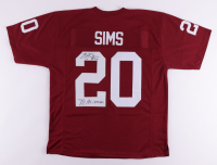 """Billy Sims Signed Jersey Inscribed """"78-Heisman"""" (JSA COA) at PristineAuction.com"""