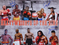 """Michael Moorer, Larry Holmes & """"Merciless"""" Ray Mercer Signed Heavyweights of the Ring 16x20 Photo (MAB Hologram) at PristineAuction.com"""