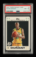 Kevin Durant 2007-08 Topps Rookie Set #2 RC (PSA 8) at PristineAuction.com