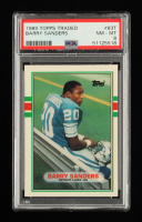Barry Sanders 1989 Topps Traded #83T RC (PSA 8) at PristineAuction.com